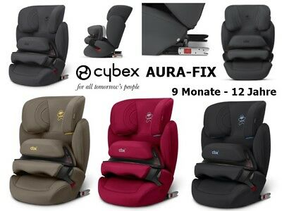 Cybex Aura-Fix CBX Designs 2018 (9-36 kg) - Neu