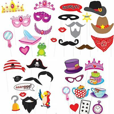 Party Photo Props Booth Birthday Wedding Baby Shower 10 Game Prop