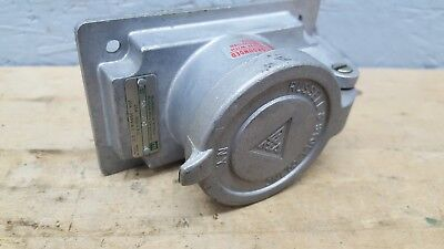 Russell & Stoll SKR 6G RECEPTACLE 20 AMP 600VAC USED