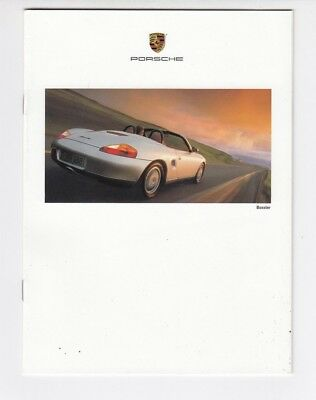 1997 Porsche 22-page Car Sales Brochure - 911 Carrera 4S Targa Turbo Boxster /a8