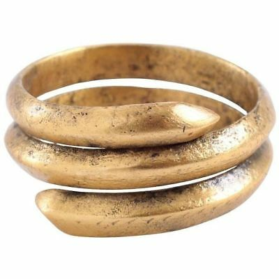 Ancient Viking Coil Ring C.850-1100 Ad