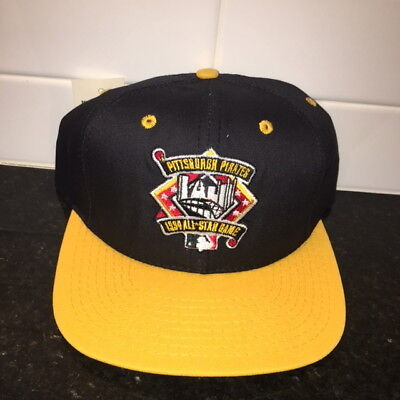 3afb681de73 VTG 1994 MLB All Star Game Pittsburgh Starter Snapback Hat NWT One Size  Fits All