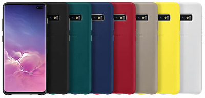 SAMSUNG Official Original OEM Galaxy S10e / S10 / S10+ Leather Cover Case