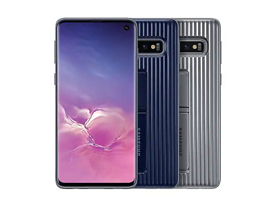 Official SAMSUNG OEM Galaxy S10e (Lite), S10, S10+ Military Rugged Cover Case