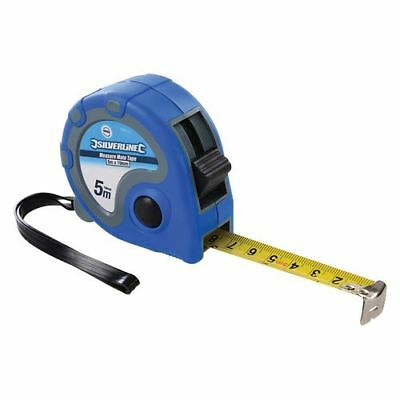 Silverline 868770 Measure Mate Tape 5m / 16ft x 19mm