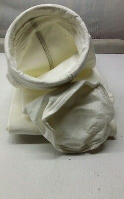 """Dust Collector/Filter Bag 5 1/2"""" x 10FT NEW 25PCS"""