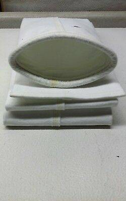 """JET MILL Dust Collector/Filter Bag 5""""x  10FT 2"""" Long  NEW 35pcs"""