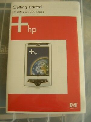 Getting Started HP iPAQ rz1700 Series User Manual and CD with Windows CE 2003