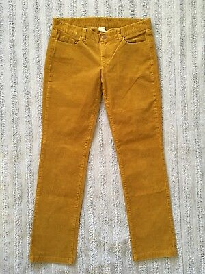 J.CREW City Fit Women's Straight Leg Stretch Corduroy Pants Sz 29R