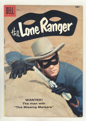 May 1958 THE LONE RANGER #119 comic.book CLAYTON MOORE cover.FINE