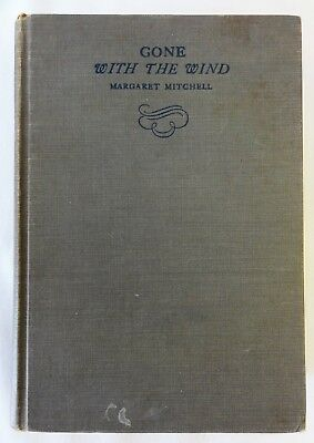 Gone With the Wind by Margaret Mitchell - September 1936 - Hardcover - Macmillan