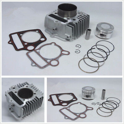 Engine Cylinder Kit 54mm Piston Ring Gasket 110 to 125cc for HONDA Dirt Pit ATV