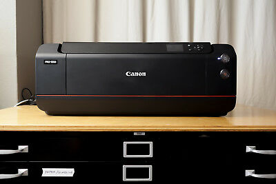 """Canon PRO-1000 Printer Large Format 17"""" PRO 1000 with Dust Cover EXC++"""