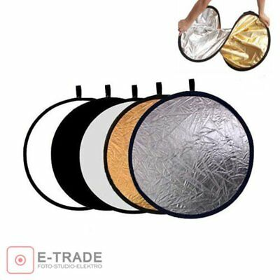 Round 5 in 1 Photography Studio Light Mulit Collapsible Disc Reflector U