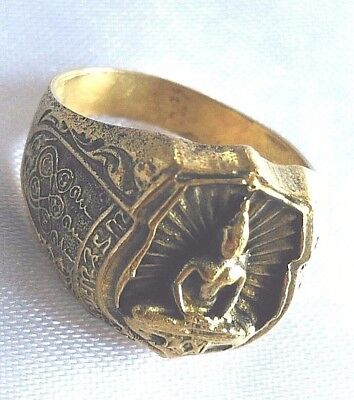 Ring Phra LP Sothorn Thai Amulet Talisman Add up Fortune lucrative charm # 61