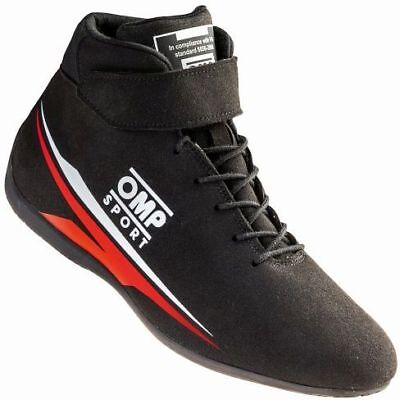 FIA OMP SPORT Race shoes BLACK rally boots 8856-2000 NEW 2018
