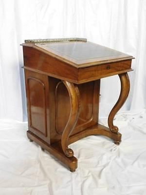 Antique Victorian Walnut Davenport Writing Desk - Courier Available