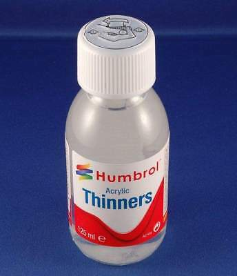 Humbrol 125ml Acrylic Thinners | Brand New | Free Delivery