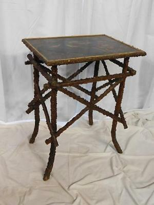 Antique Aesthetic Movement Arts & Crafts Japanned Side Table