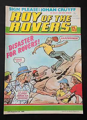 ROY OF THE ROVERS - 9th August 1980 - Vintage / Retro Football Comic