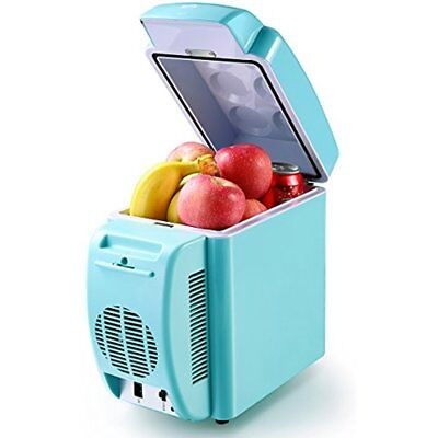Thermo   Electric Cooler And Warmer Car Refrigerator Portable Mini Fridge  AC U0026 7
