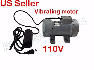 110V Industrial Vibrating Moter 250W Cast Iron Vibrating Vibrate Motor 2840rpm