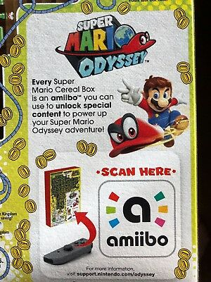 Read - Super Mario- No Cereal (Section W Amiibo Only!!) Nintendo Limited Edition