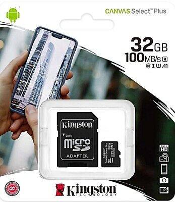 32GB Micro-SD Speicherkarte KINGSTON MicroSD Karte Class 10