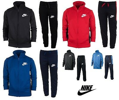 Nike Boys Kids Tracksuit Jogging Bottoms Jacket Track Top Training Pants 5-14