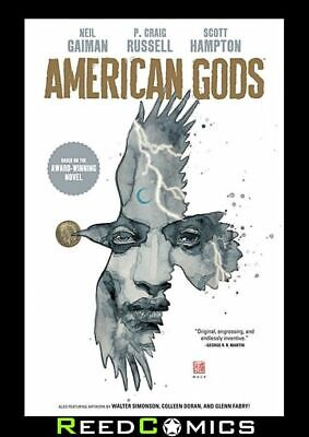 NEIL GAIMAN AMERICAN GODS VOLUME 1 SHADOWS HARDCOVER Collects 9 Part Series