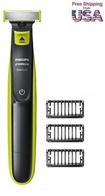 Philips Norelco OneBlade hybrid electric trimmer and shaver, FFP, QP25
