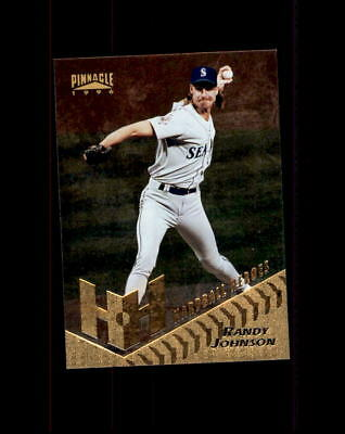 1996 Pinnacle Hardball Heroes #273 Randy Johnson (R)