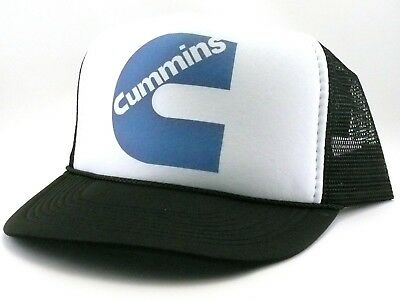 c10b26bfd31f0 Cummins Trucker Hat mesh hat snapback hat black new adjustable Diesel hat