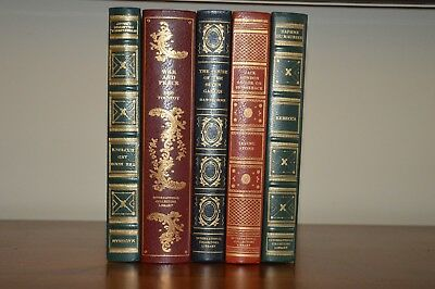 Lot Of 5 International Collectors Library Vintage Hardcover Classics