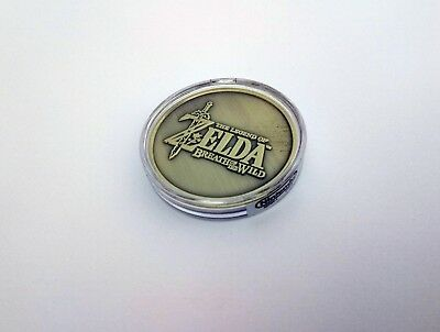 Legend of Zelda Breath of the Wild Collectible Coin E3 2016 Limited Switch Wii U