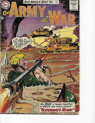 Our Army at War  #133 (Sgt Rock  GD+  2.5) Aug-1963, DC
