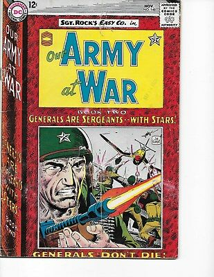Our Army at War  #148 (Sgt Rock  VG/FN  5.0) Nov-1964, DC
