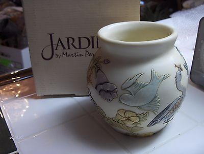 Harmony Ball - Jardinia  MORNING CHORUS BIRDS FLOWERS  cachepot  RETIRED