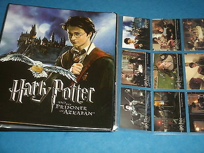 Harry Potter And The Prisoner Of Azkaban (Binder A & 2 Sets Of Trading Cards)