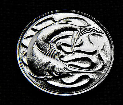 20 Cents Singapore 1980 - Fish - polished - Gift/ Collect *TAC8