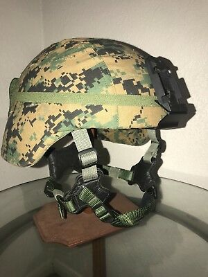 Gentex USMC Advanced Combat Helmet ACH Size XL