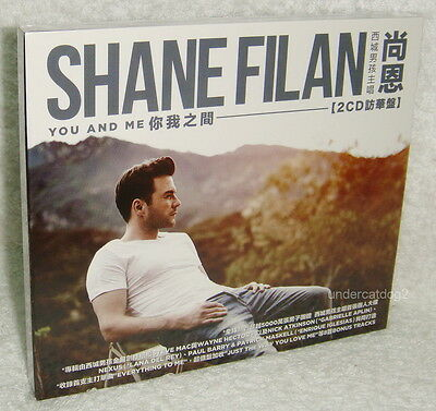 Shane Filan You And Me [Deluxe Edition] 2013 Taiwan 2-CD w/BOX (WESTLIFE)