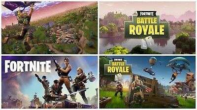 FORTNITE GAME Photo Poster Print Wall Art A2 A3 A4