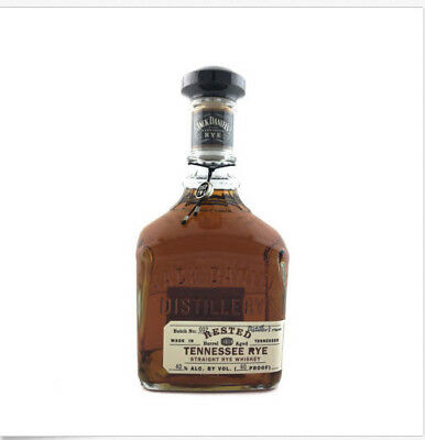 Jack Daniels Rested Tennessee Rye Whiskey 750ml 80 Proof- CHEAPEST Price!!!!!!!