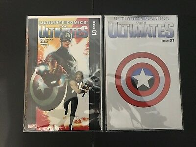 Ultimate Comics: The Ultimates 1A standard and polybagged - Marvel - VF/NM