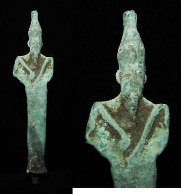 Zurqieh -As3124- Ancient Egypt, Bronze Statue Of Osiris, 750 - 300 B.c