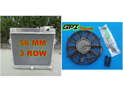 ALUMINUM ALLOY RADIATOR & FAN Fit BMW E30 M3/320is 1985-1993 86 87