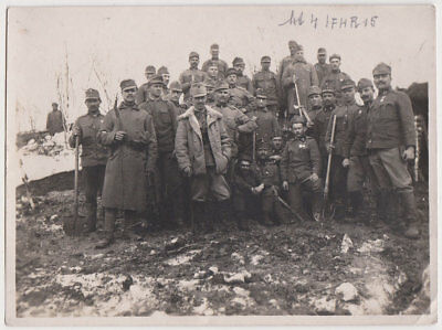 Echtes Original April 1916 UKRAINE Soldaten in Browary, 1. Weltkrieg