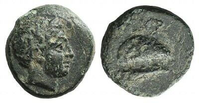 LAC Aeolis, Gyrneion, 4th-3rd century BC. Æ 10mm  SPA15-91