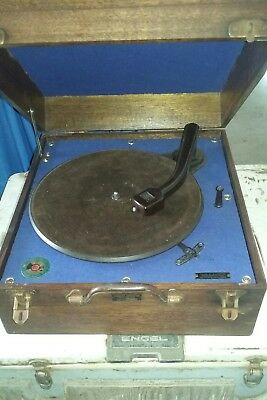 Vintage Record Player gramophone